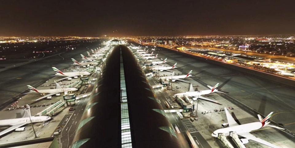 Dubai360: 8K-Rundumvideo des Airports auf YouTube aufgetaucht