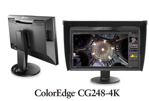 Eizo ColorEdge CG248-4K: Neuer Ultra HD Monitor mit 24 Zoll