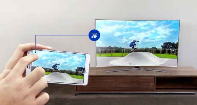 Samsung vergibt Smartphone-Zugabe beim Kauf eines UHD TVs