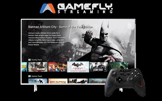 Philips TVs streamen mit GameFly Spiele in Konsolenqualität