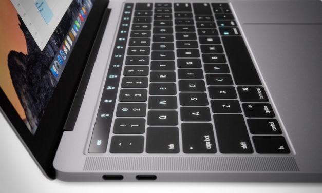Apple MacBook Pro: So könnte die OLED-Leiste aussehen