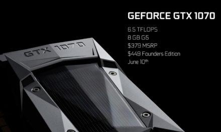 Nvidia GeForce GTX 1070: Erste 4K-Benchmarks für Laptops