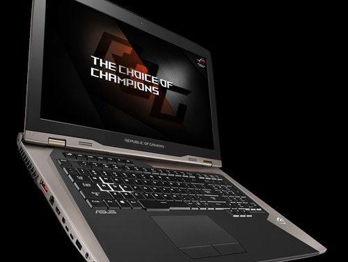 Asus ROG GX800VH: 4K-Gaming-Laptop mit GeForce GTX 1080 SLI