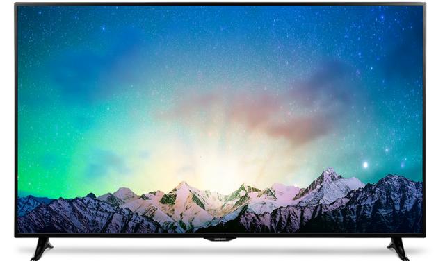 MEDION X18074 & X18095: 55 und 78 Zoll 4K-TVs [IFA 2016]