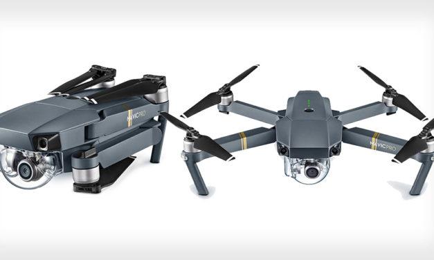 4K-Kamera, einklappbare Rotoren und vollautomatische Verfolgung