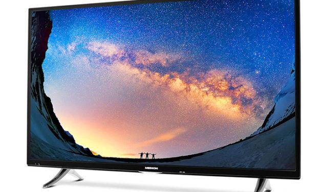 Medion Life X18230: Aldi bietet 65 Zoll großen 4K-Fernseher für 899 Euro an