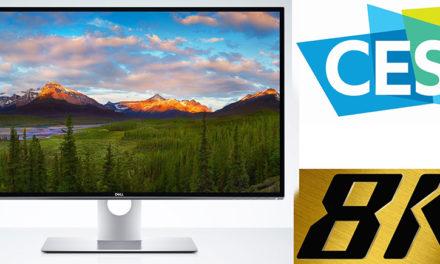 Dell weckt auf CES in Las Vegas Begierden: Neuer 32-Zoll 8K-Monitor bestaunt