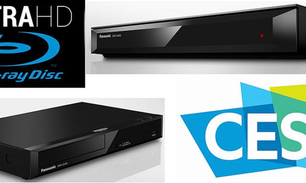 Drei Ultra-HD Blu-ray Player von Panasonic für den kleineren Geldbeutel