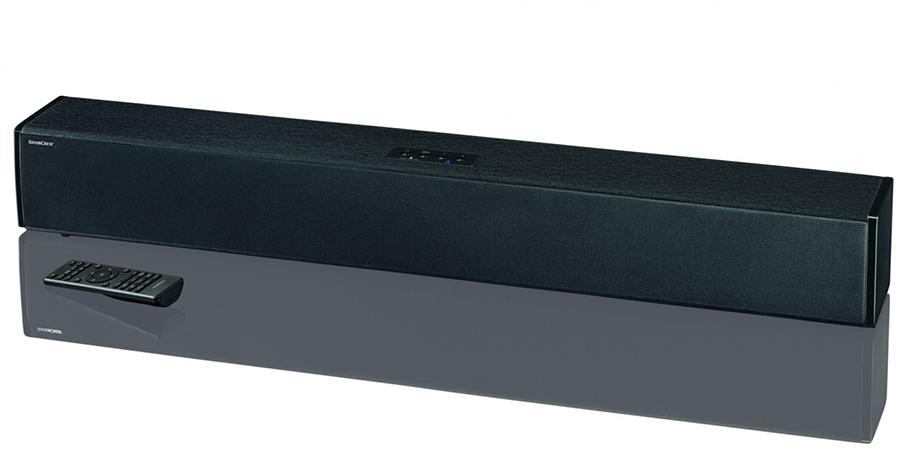silvercrest soundbar wartet mit eher bescheidenen. Black Bedroom Furniture Sets. Home Design Ideas