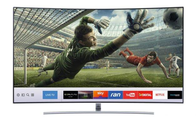 Smart-TV ist der Schlüssel zur Sport- und Fußballwelt der Zukunft