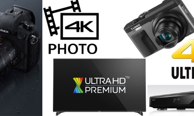 Panasonic verzahnt LUMIX-Kameras mit 4K-TVs und Blu-ray Recordern