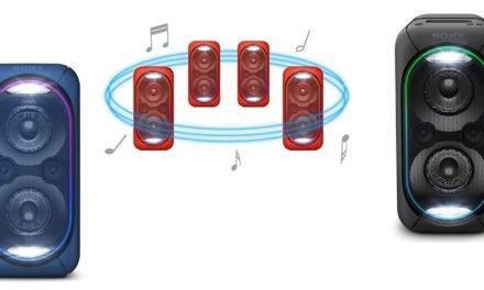 Sonys Extra Bass-Partyboxen sind sehr gesellig – aber nicht billig