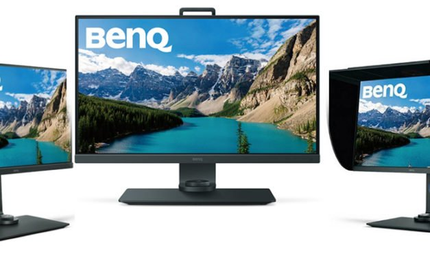 BenQ-Monitor SW271 ist in vier Farbräumen zuhause