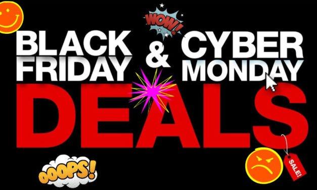 Teils krasse Unterschiede zwischen Cyber Monday und Black Friday!