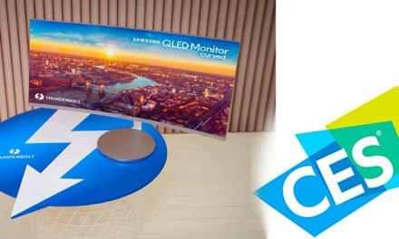 "Samsungs Curved QLED-Monitor ""blitzt"" mit Thunderbolt-Anbindung"