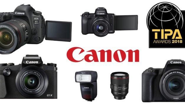 """TIPA-Awards für ein vielseitiges """"Sixpack"""" von Canon"""