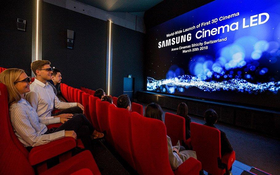 """Samsung revolutioniert das Kino: """"3D und LED – ein absolutes Novum"""""""