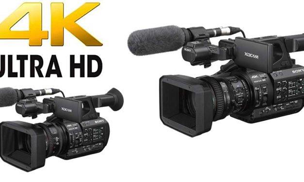 Sonys neue 4K-Handheld-Kameras reizen technische Möglichkeiten aus