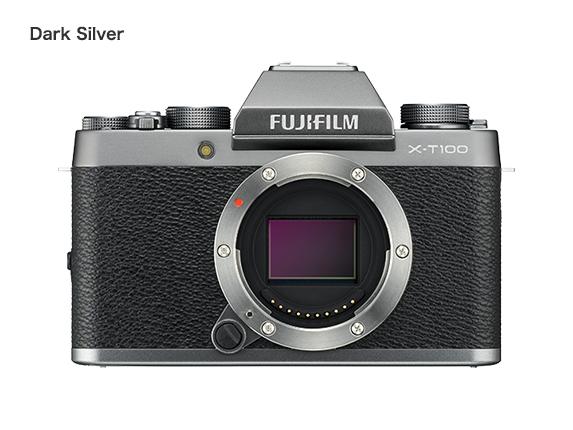 fujifilm x t100 neue spiegellose 4k kamera. Black Bedroom Furniture Sets. Home Design Ideas