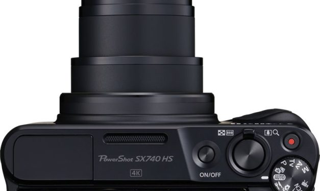 Canon PowerShot SX740 HS: Erstes PowerShot-Modell mit 4K-Videoaufnahme