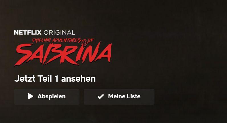 Chilling Adventures of Sabrina: Netflix bestätigt zweite Staffel für April 2019