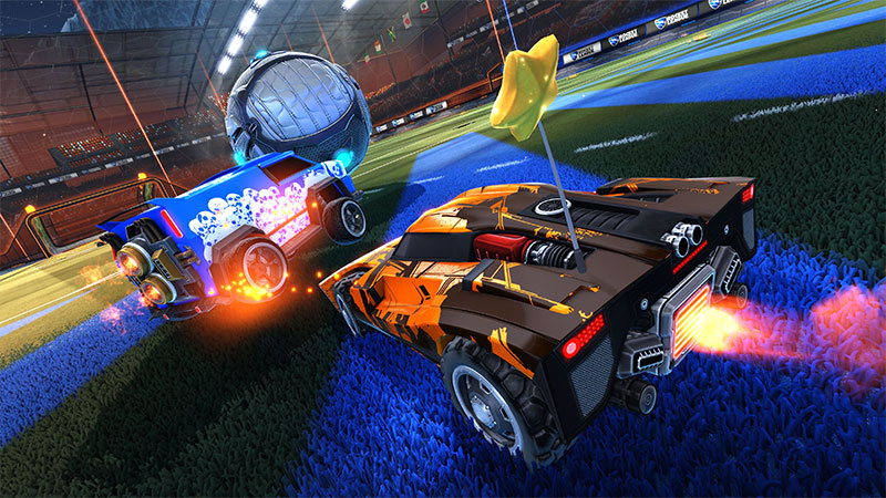 Microsoft Xbox One X: Rocket League bekommt 4K-Update mit 60 fps