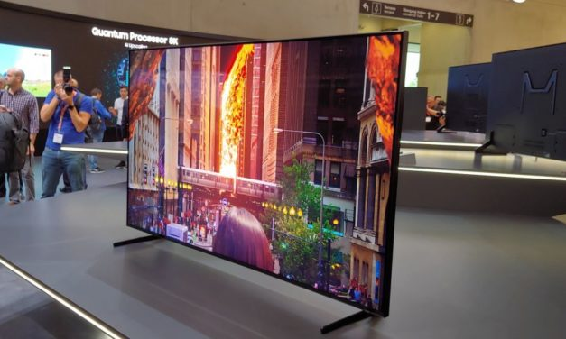 Samsung Q900R: 8K-QLED-TV im Hands-on