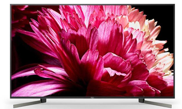 Sony Full-Array 4K-Fernseher operieren mit Local Dimming