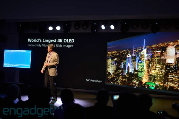 CES 2013: Sony's UltraHD 4K OLED-Fernseher bestätigt