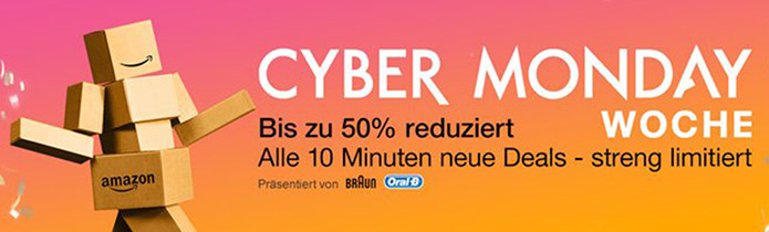 Amazon Cyber Monday Woche: 4K- & Heimkino-Deals am 29.11.15