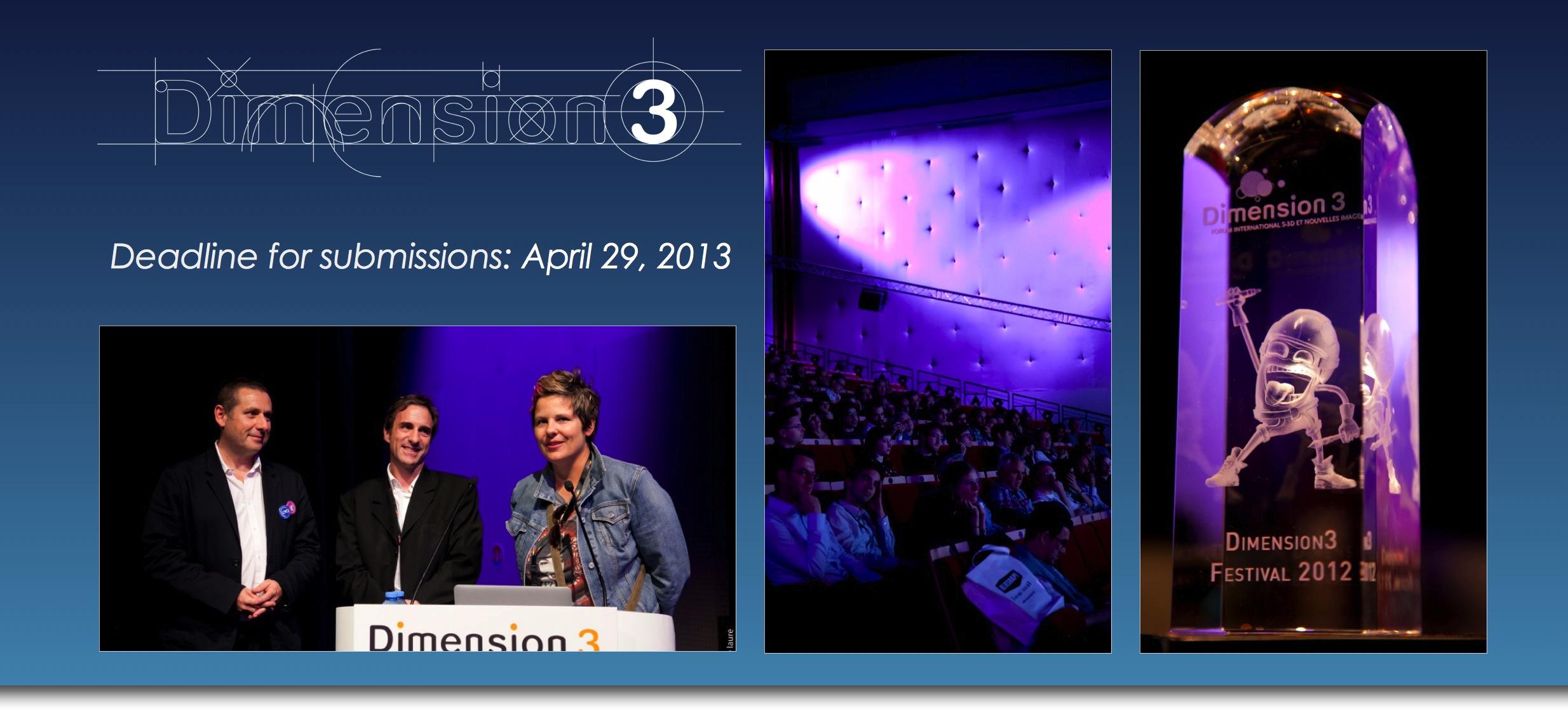 Film-Festival Dimension 3 nun auch mit Kategorie für Ultra HD Content