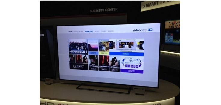 Videociety: 4K-Streaming auf Toshibas 4K UHD TVs