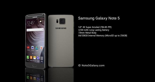 Galaxy Note 5: Konzept zeigt 4K-Panel & Design des Galaxy S6