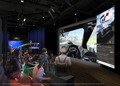 Gran Turismo 5: 4K-Demo in Tokio