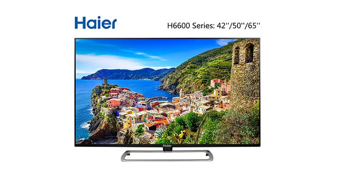 IFA 2014: Haier stellt neuen H6600 4K UHD TV mit 41 und 50 Zoll vor