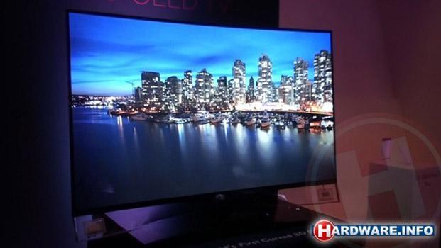 Erste Eindrücke von LG's curved OLED-TV