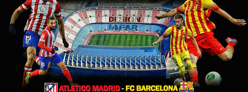 La Liga: Entscheidungsspiel zwischen Atlético Madrid & FC Barcelona in Ultra HD