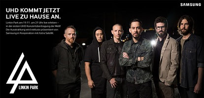 Linkin Park: Live-Konzert in UHD am 19. November 2014