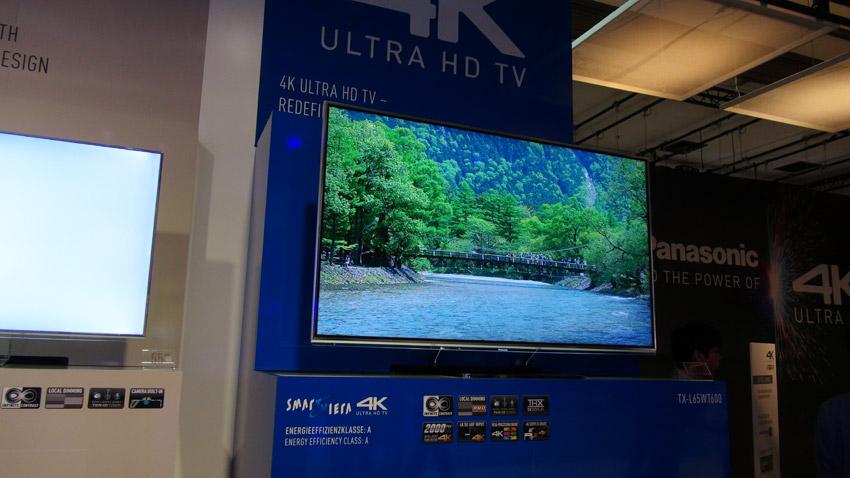 Panasonic TXL65WT600: 4K-Video Channel