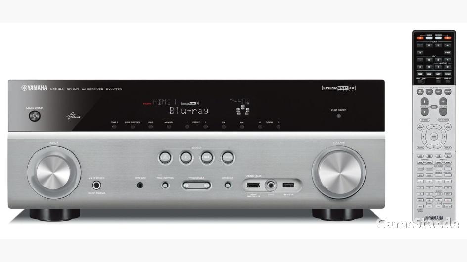 Yamaha stellt RX-V675 und RX-V775 AV-Receiver mit 4K-Upscaling und 7.2-Sound vor