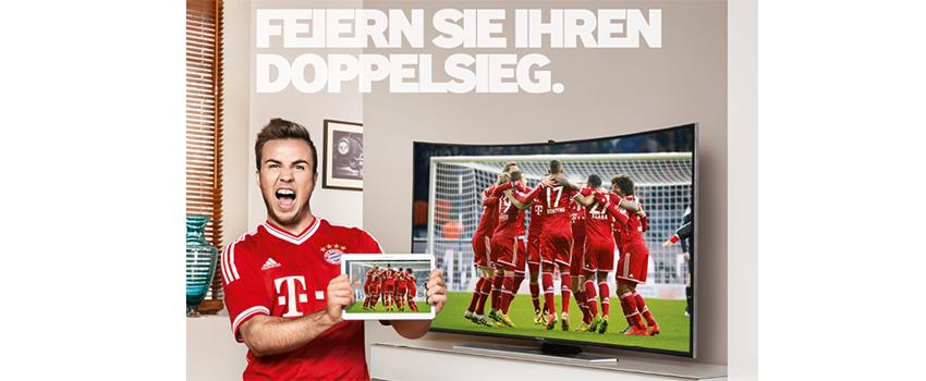Samsung-Doppelsieg: Fernseher kaufen, Tablet gratis erhalten