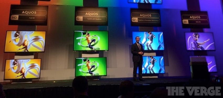 Sharp: 4K-Displays für Smartphones & Tablets ab 2015