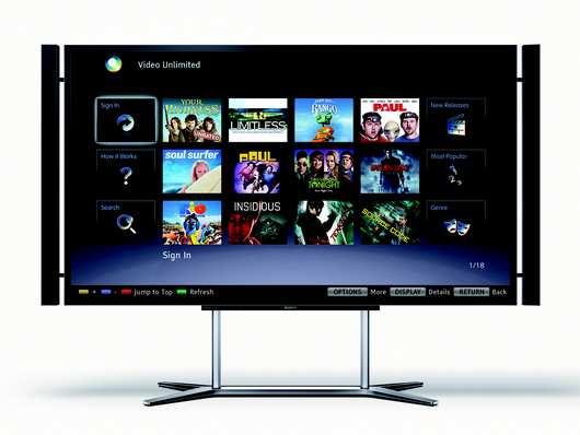 Sony 55 – und 65 Zoll 4K LED TVs ab April für $4,999 und $6,999 erhältlich