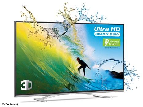 Technisat TechniTwin Isio: Erster UHD-TV aus Deutschland ab sofort verfügbar