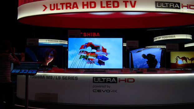 CES 2014: Toshiba stellt 4K-LED-Fernseher vor