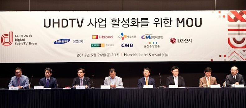 LG und Samsung schließen sich mit Kabel-TV-Anbietern zusammen
