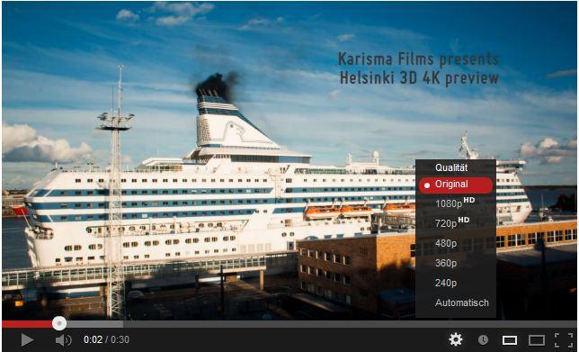 Zeitraffer, Helsinki und Musikvideos aus Asien – Die Ultra HD Videos der Woche