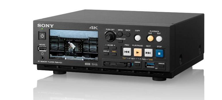 Sony PMW-PZ1: 4K SxS-Memory-Player mit 24 bis 60 FPS