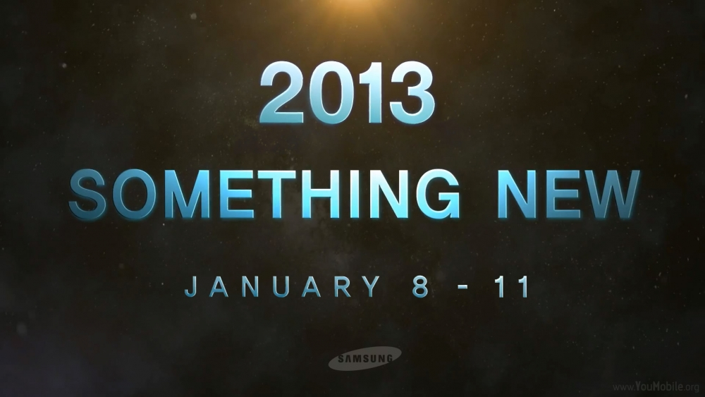 """Samsung verspricht """"etwas neues"""" zur CES 2013"""