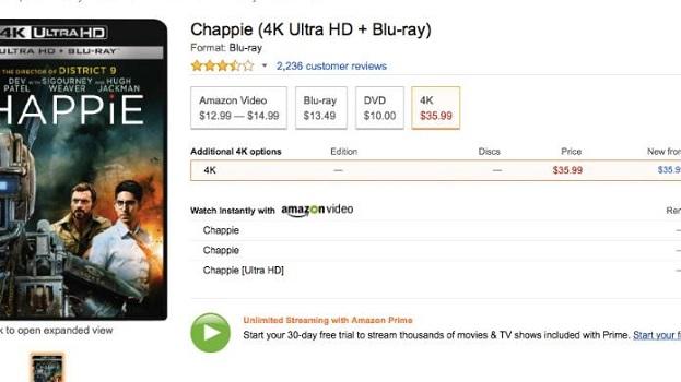 Ultra HD Blu-rays: Sony-Titel gelistet & Fox senkt Preise